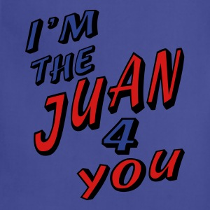 Navy I'm The Juan For You T-Shirts - Adjustable Apron