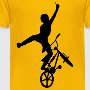 Yellow freestyler2 Kids' Shirts - Toddler Premium T-Shirt