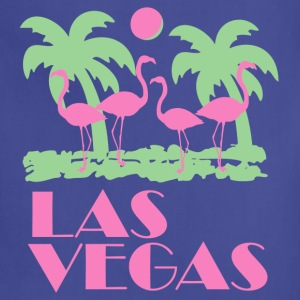Navy Retro Las Vegas T-Shirts - Adjustable Apron