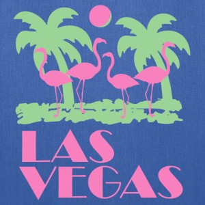 Navy Retro Las Vegas T-Shirts - Tote Bag