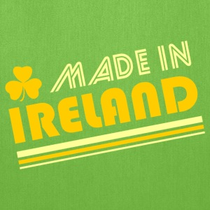 Bright green Made In Ireland T-Shirts - Tote Bag