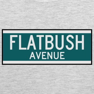 Flatbush Avenue Sign T-Shirt - Men's Premium Tank