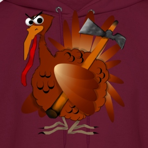 Thanksgiving Turkey - Men's Hoodie
