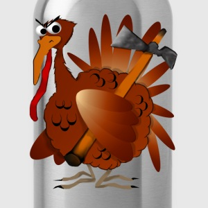 Thanksgiving Turkey - Water Bottle