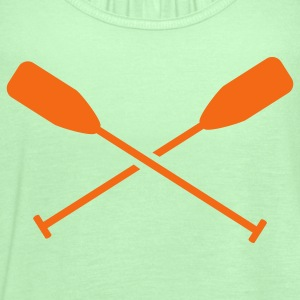 Canoeing - Women's Flowy Tank Top by Bella