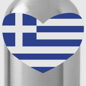 Black Love Greece T-Shirts - Water Bottle