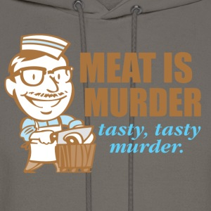 Meat Is Murder - Men's Hoodie