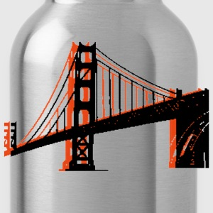 Royal blue Golden Gate Bridge T-Shirts - Water Bottle