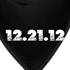 Black 12.21.12 2012 The End of the World? Toddler Shirts - Bandana