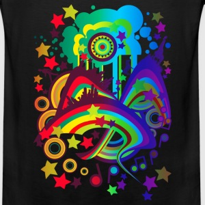 Over_The_Rainbow - Men's Premium Tank