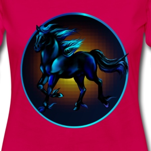 Framed Black Horse - Women's Premium Long Sleeve T-Shirt