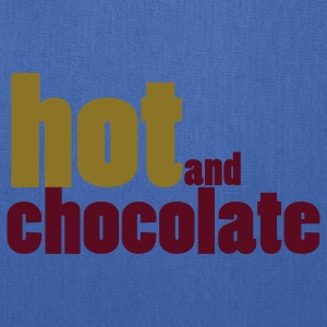 Navy hot and chocolate T-Shirts - Tote Bag