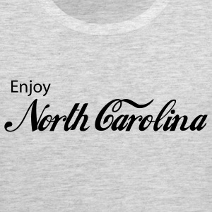 Heather grey north carolina T-Shirts - Men's Premium Tank