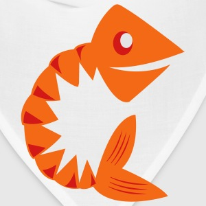 Heather grey fish bones T-Shirts - Bandana