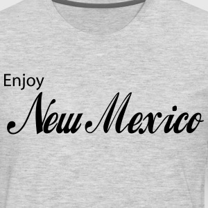 Heather grey new mexico T-Shirts - Men's Premium Long Sleeve T-Shirt