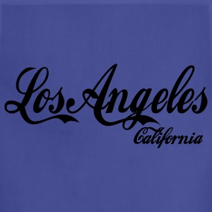 Navy los angeles california T-Shirts - Adjustable Apron