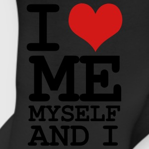 Black i love me myself and i T-Shirts - Leggings