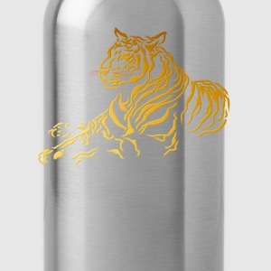 Gold Tiger - Water Bottle