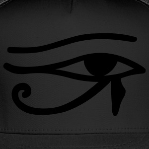 Black Eye of Horus T-Shirts - Trucker Cap