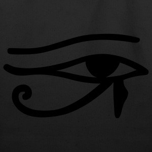 Black Eye of Horus T-Shirts - Eco-Friendly Cotton Tote
