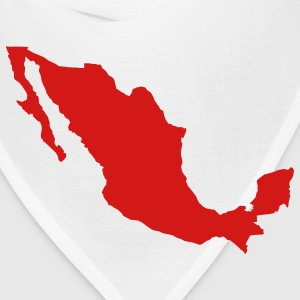 White Mexico T-Shirts - Bandana