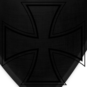 Black iron cross T-Shirts - Bandana