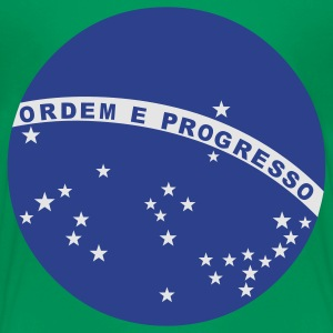 Kelly green Brazil - Ordem E Progresso Kids' Shirts - Toddler Premium T-Shirt