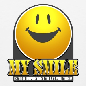 Smile T-Shirt - Men's Premium Tank