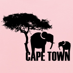Yellow Cape Town T-Shirts - Kids' Hoodie