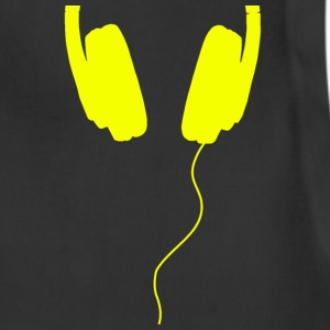 headphones yellow - Adjustable Apron