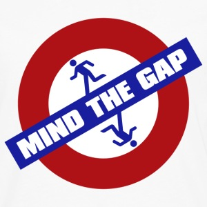MIND_THE_GAP - Men's Premium Long Sleeve T-Shirt