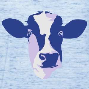 Sky blue cow T-Shirts - Women's Flowy Tank Top by Bella