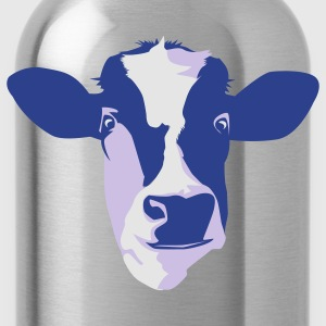Sky blue cow T-Shirts - Water Bottle