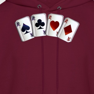 All Four Aces - Men's Hoodie