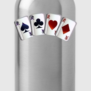 All Four Aces - Water Bottle