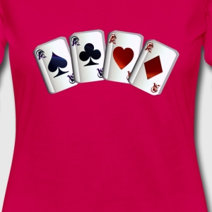 All Four Aces - Women's Premium Long Sleeve T-Shirt