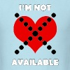 I'm Not Available - Men's T-Shirt