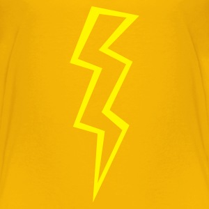 Yellow lightning (ZAP) Kids' Shirts - Toddler Premium T-Shirt