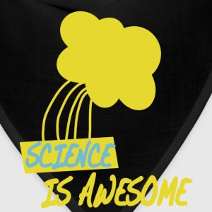 Turquoise Science is Awesome Kids' Shirts - Bandana