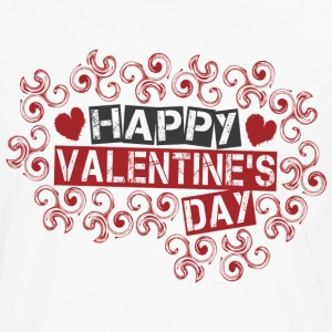 White happy_valentines_day_twirls T-Shirts - Men's Premium Long Sleeve T-Shirt