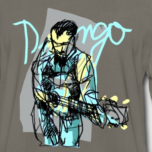 Gold django (rheinhardt) T-Shirts - Men's Premium Long Sleeve T-Shirt