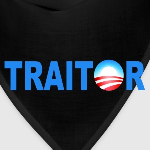 Black Obama Traitor T-Shirts - Bandana