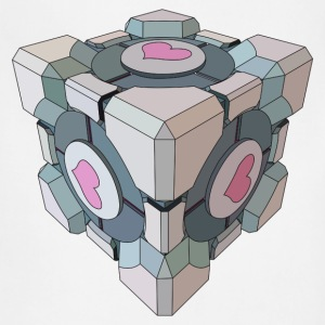 Companion Cube - Adjustable Apron