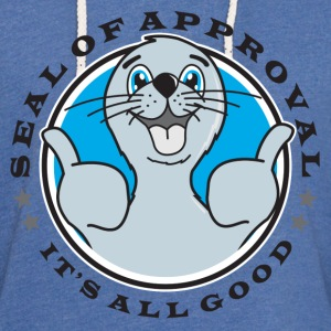 Seal of Approval - Unisex Lightweight Terry Hoodie