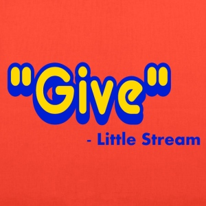 Yellow Give Said The Little Stream T-Shirts - Tote Bag