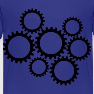 Royal blue Gears Kids' Shirts - Toddler Premium T-Shirt