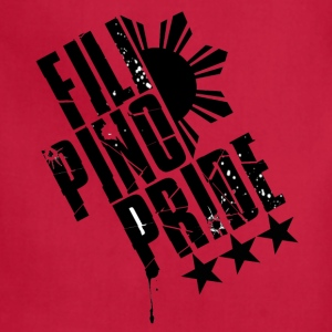 Red Filipino Pride T-Shirts - Adjustable Apron