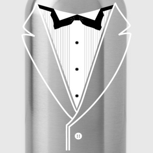 Custom Tuxedo Plain - Water Bottle