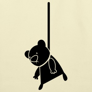 EMO hanging teddy bear cult T-Shirts - Eco-Friendly Cotton Tote