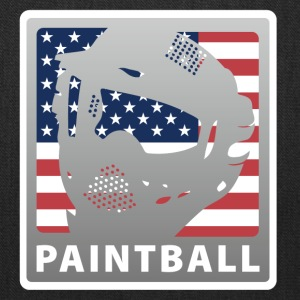 White paintball_3 T-Shirts - Tote Bag